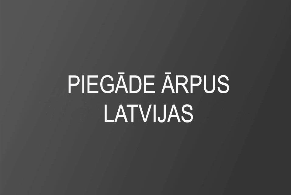 Piegāde ar VAS Latvijas Pasts starpniecību