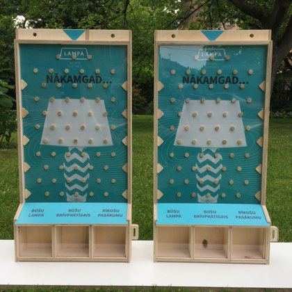 LAMPA krājkases/spēles Choice Box